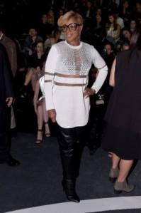 Mary J. Blige al lancio di wang per h&m